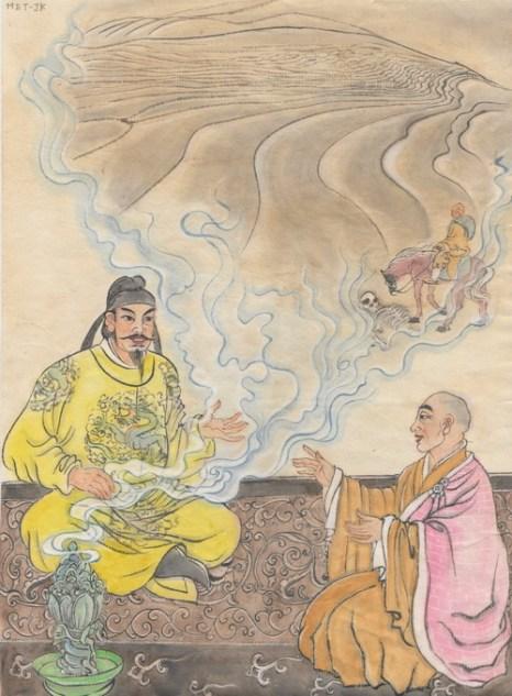 Сюань Цзан - мастер Трипитака Великой династии Тан. Иллюстрация: Джейн Ку/Великая Эпоха