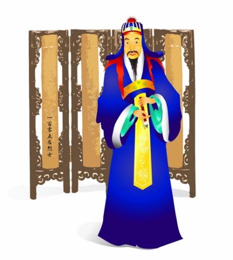 Юй Шинань - выдающийся каллиграф династии Тан. Иллюстрация: Джессика Чан/Великая Эпоха (The Epoch Times)