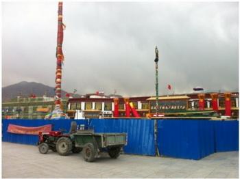 Строящиеся здания в районе Баркор. Фото с сайта theepochtimes.com