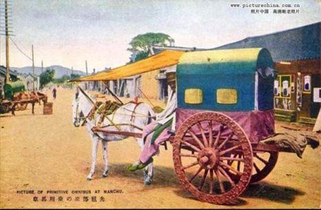 Старинная лошадиная повозка. Фото: kanzhongguo.com