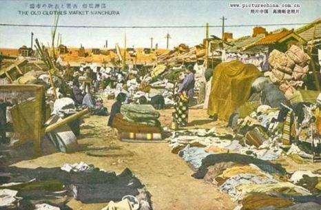 Барахолка (рынок старой одежды). Фото: kanzhongguo.com