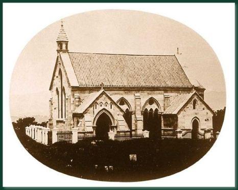 Каменная церковь.Город Фучжоу. 1860 год. Фото: Теодор Джонс