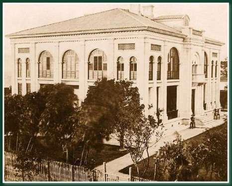 Консультсво Великобритании.Город Фучжоу. 1860 год. Фото: Теодор Джонс