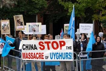 Уйгуры недовольны «репрессивной» политикой Пекина по отношению к их нации. Фото: The Epoch Times
