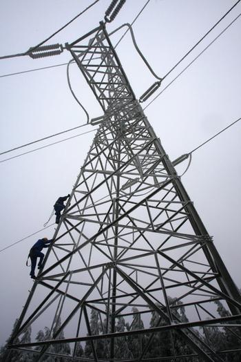 Замедление роста потребления электроэнергии в Китае связано с замедлением экономики. Фото: China Photos/Getty Images