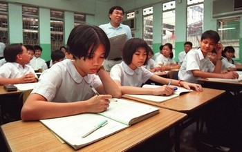 В Китае бастуют тысячи учителей начальных и средних школ. Фото: AFP