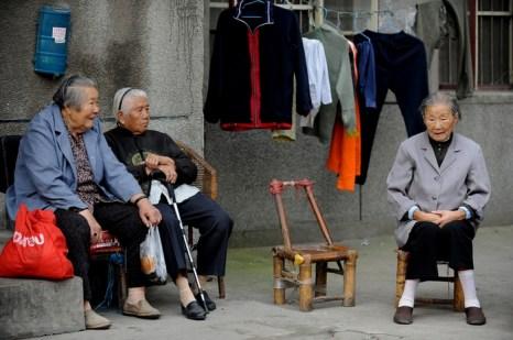 О китайских стариках некому заботиться. Фото: Stringer: AFP/2009 AFP
