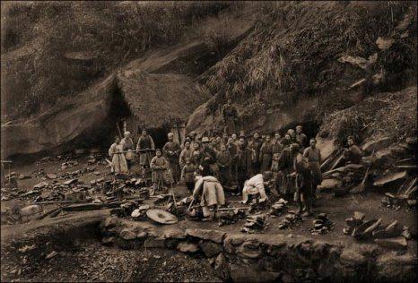 Добытчики угля. 1909 год. Фото с kanzhongguo.com