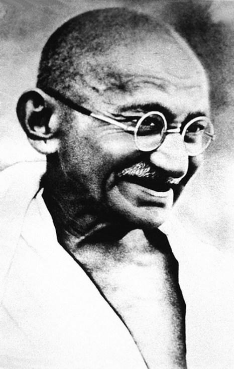 Махатма Ганди (1869-1948), Индия. Фото: AFP/Getty Images