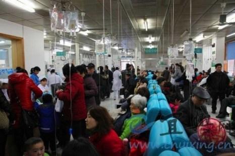 В Китае врачи ради наживы масштабно злоупотребляют капельницами. Фото с epochtimes.com