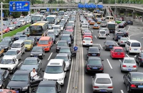 На одной из дорог Пекина. Фото: GETTY IMAGES