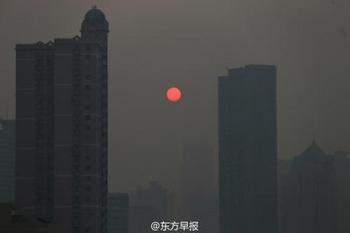 Смог в Китае. Декабрь 2013 года. Фото с epochtimes.com