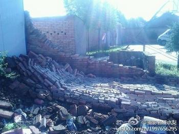 Землетрясение в Китае. Провинция Ганьсу. Июль 2013 года. Фото с epochtimes.com