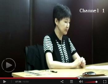 Видеосвидетельство Гу Кайлай, жены бывшего члена Политбюро Бо Силая, было показано 23 августа, на второй день суда над Бо Силаем в городе Цзинань, провинции Шаньдун. Фото с сайта theepochtimes.com