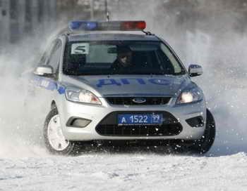 ГИБДД предупреждает о заносах и гололедице на дорогах. Фото: mvd.ru