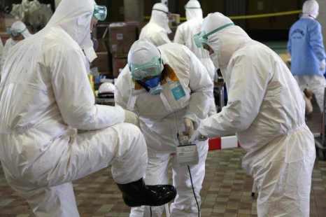Уровень радиации в ёмкости с радиоактивной водой на «Фукусиме-1» за 9 дней увеличился в 18 раз. Как сообщала «Великая Эпоха», на прошлой неделе Международное агентство по атомной энергии (МАГАТЭ) потребовало от властей Японии правильно оценивать уровень опасности на «Фукусиме-1». Фото: GO TAKAYAMA/AFP/Getty Images