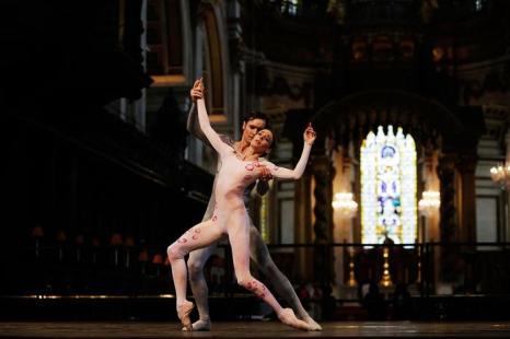 Английский балет в соборе Святого Павла в Лондоне  Фоторепортаж. Фото: Matthew Lloyd/Getty Images