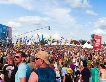 Рок-фестиваль «Нашествие»  прошел в Тверской области. Фото с сайта allfest.ru