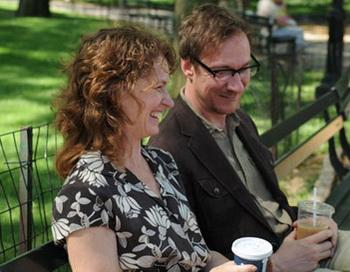 Дэвид Тьюлис и Мелисса Лео в фильме «Вероника решает умереть». Фото с сайта anonsas.lt