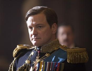 «Король говорит!». Колин Фёрт в роли Джорджа VI в фильме «Король говорит!». Фото с сайта filmz.ru