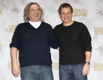 Режиссер Пол Гринграс и актер Мэтт Дэймон. Фото: Andreas Rentz/Getty Images