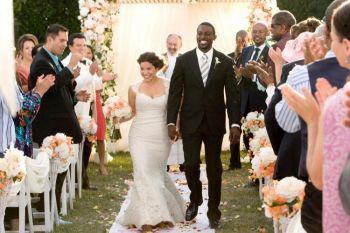 Америка Феррера и Лэнс Гросс в фильме «Семейная свадьба». Фото: Scott Garfield/Fox Searchlight