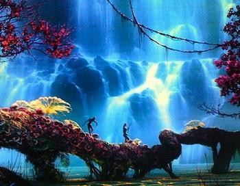 Кадр из фильма в формате 3D «Аватар». Фото с сайта avatar-movies.ru