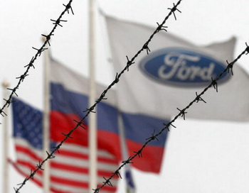 Завод Ford Motor Co в СТ. Петербурге.Фото: Bloomberg/Getty Images