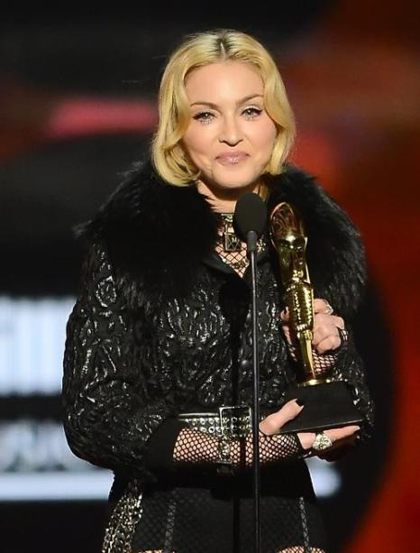 Мадонна на церемонии Billboard Music Awards 2013 в Лас-Вегасе 19 мая 2013 года. Фото: Ethan Miller/Getty Images