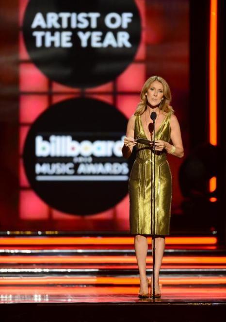 Селин Дион на церемонии Billboard Music Awards 2013 в Лас-Вегасе 19 мая 2013 года. Фото: Ethan Miller/Getty Images