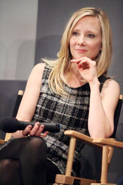 «Совсем не бабник». Актриса Энн Хеч на пресс-конференции фильма «Совсем не бабник» в Нью-Йорке. Фото: Astrid Stawiarz/Getty Images