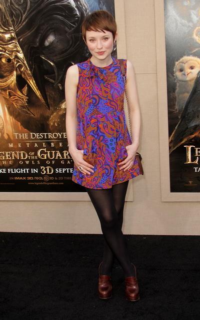 «Легенды ночных стражей». Актриса Эмили Браунинг посетила премьеру фильма «Легенды  ночных стражей» в Лос-Анджелесе, Калифорния. Фото:  Frederick M. Brown/Getty Images