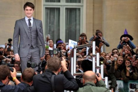 «Гарри Поттер и Дары смерти: Часть 2». Дэниэл Рэдклифф прибыл на премьеру фильма «Гарри Поттер и Дары смерти: Часть 2» в Лондоне. Фото: BEN STANSALL/AFP/Getty Images