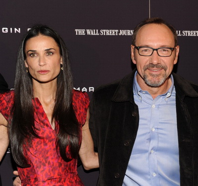 «Предел риска». Деми Мур и Кевин Спейси на премьере фильма «Предел риска» в Нью-Йорке. Фото: Jason Kempin/Getty Images