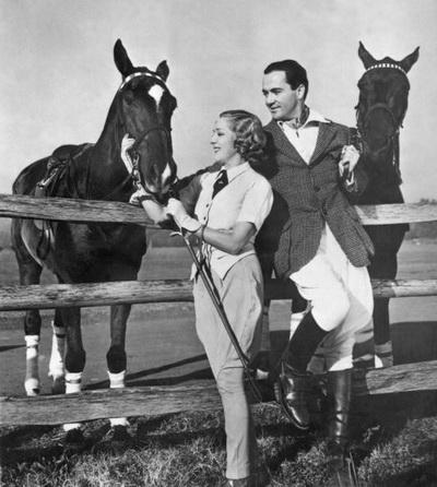 Актеры Мэри Пикфорд и Чарльз «Бадди» Роджерс. 1936 год. Фото: AFP/Getty Images