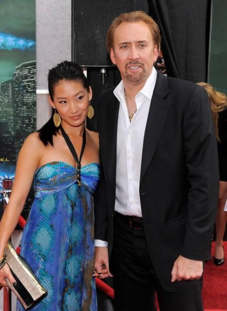Элис Ким Кейдж и Николас Кейдж. 2010 год. Фото: Jemal Countess/Getty Images