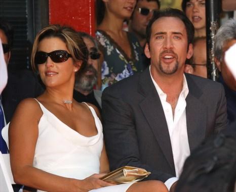 Лиза Мари Пресли и Николас Кейдж. 2001 год. Фото: Vince Bucci/Getty Images