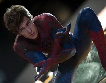 «Новый Человек-паук». Эндрю Гарфилд в фильме «Новый Человек-паук». Фото с сайта kino-teatr.ru