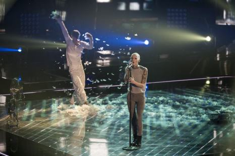 Джудит ван Хель выступила в полуфинале конкурса «Голос Германии» 13 декабря 2013 года в Берлине. Фото: Timur Emek/Getty Images