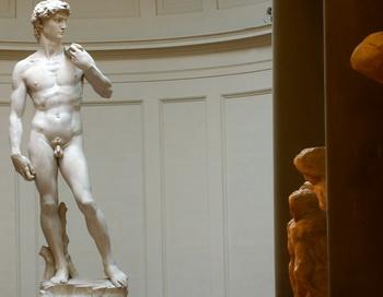 Статуя Давида. Фото: Franco Origlia/Getty Images