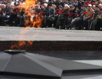 Вечный огонь. Фото: ANDREI SMIRNOV/AFP/Getty Images