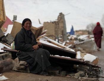 Цинхай после землетрясения. Фото: AFP/AFP/Getty Images