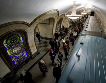 Московское метро. Фото: NATALIA KOLESNIKOVA/AFP/Getty Images