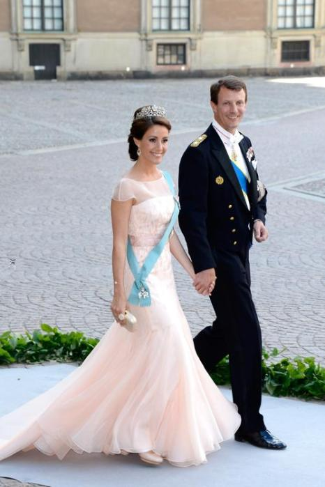 принцесса Дании Мари и принц Иоахим на свадьбе принцессы Мадлен и Кристофера ОНила в Швеции. Фото: Pascal Le Segretain/Getty Images