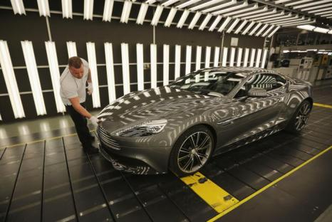Aston Martin Vanquish. Фото: Christopher Furlong/Getty Images