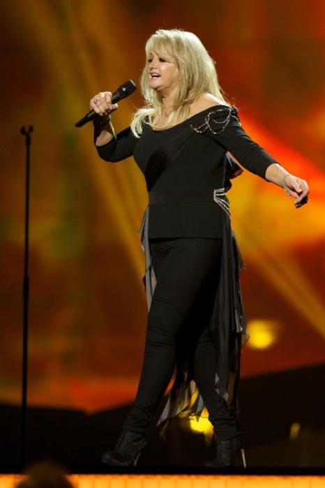 Бонни Тайлер из Великобритании на генеральной репетиции перед финалом 17 мая 2013 года. Фото: Ragnar Singsaas/Getty Images