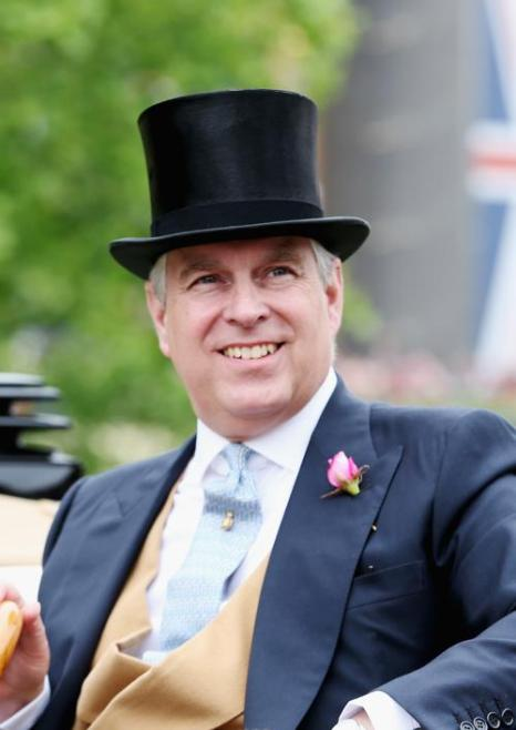 Принц Эндрю, герцог йоркский, прибыл на скачки Royal Ascot. Фото: Chris Jackson/Getty Images for Ascot Racecourse
