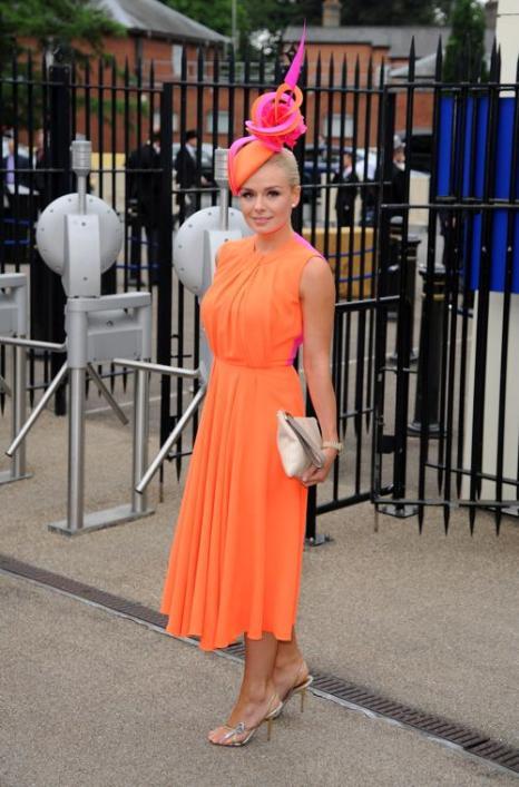 Певица Кэтерин Дженкинс прибыла на скачки Royal Ascot. Фото: Eamonn M. McCormack/Getty Images