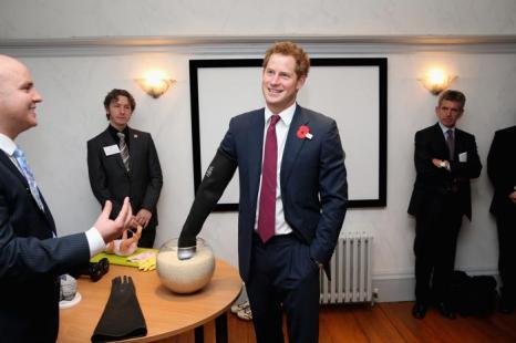 Принц Гарри совершил официальный визит в Ноттингем. Фото: Chris Jackson - WPA Pool/Getty Images