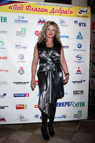 Руководитель Благотворительной программы Под флагом добра Наталья Давыдова. Фото предоставлено PR агентством Diamond Group